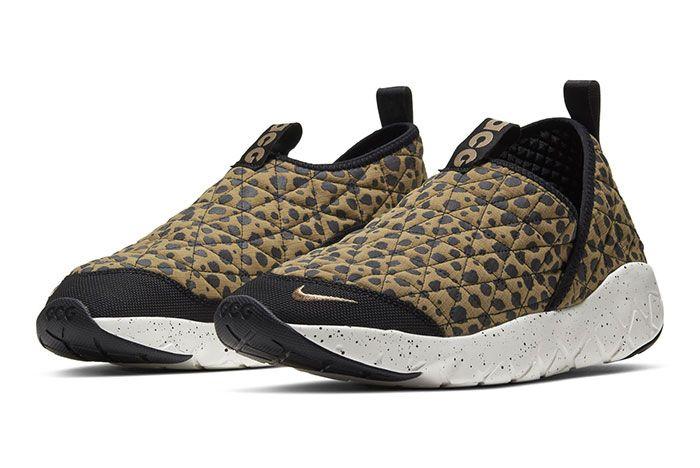 Nike Acg Moc 3 Union Cheetah Front Angle