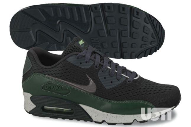 Nike Air Max 90 2013 Engineered Mesh Grey Green 1