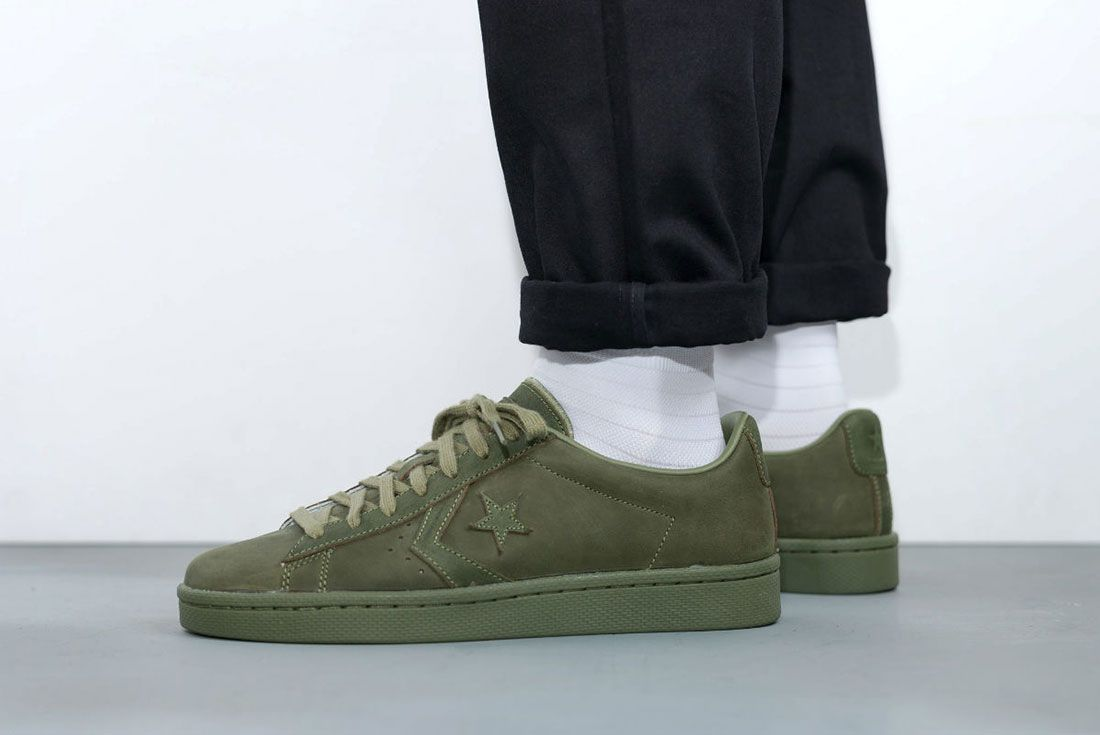 Converse Cons Pro Leather 76 Ox ' Autumn Mono' Pack 5