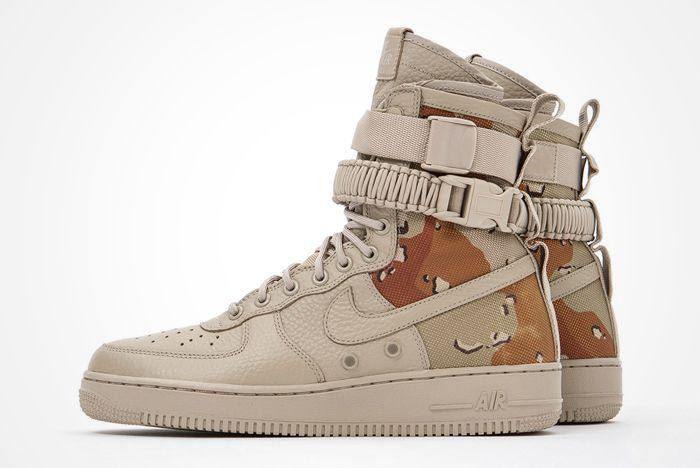 Nike Sf Air Force 1 Desert Camo Feature 1
