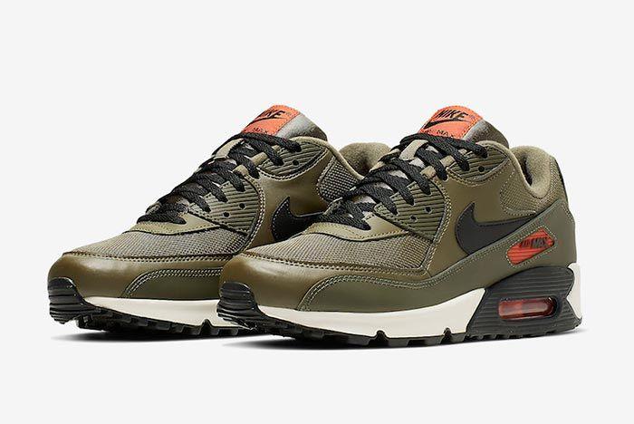 Nike Air Max 90 Essential Khaki Pair