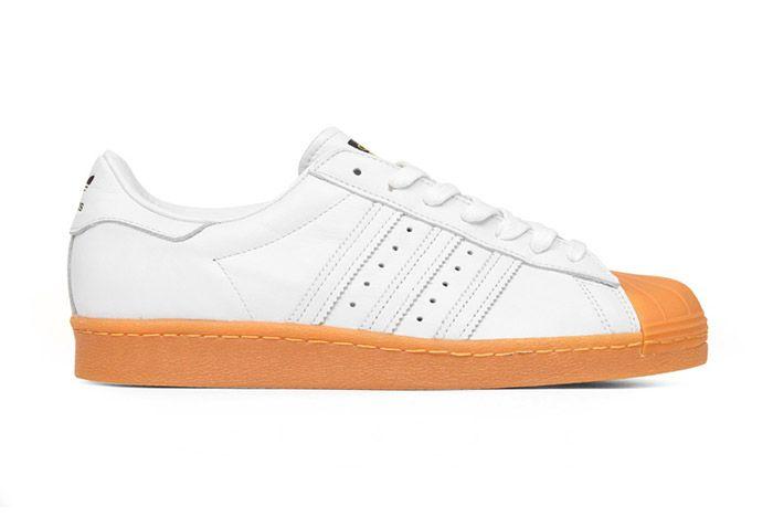 Adidas Originals Superstar 80 S Dlx White Gum 4