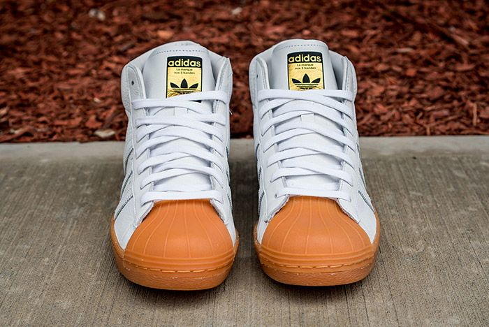 Adidas Pro Model 80 S Dlx White Gum 5