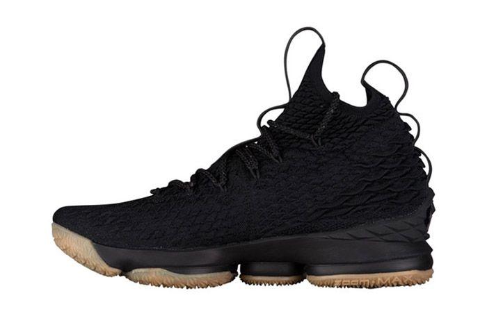 Nike Lebron 15 Black Gum 5