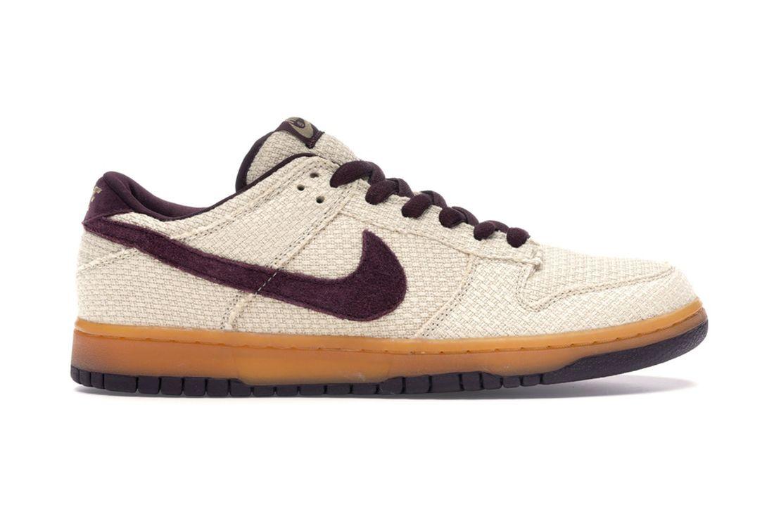 Nike Sb Dunk Low Hemp Red Mahogany 304292 761 Lateral