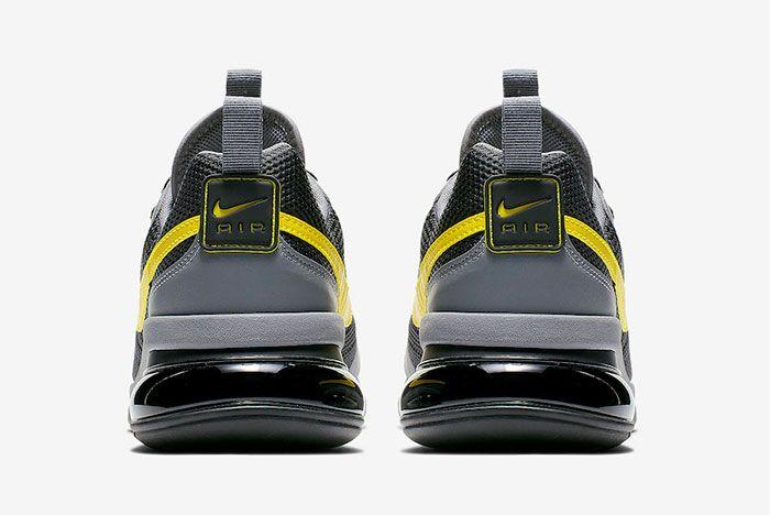 Nike Air Max 270 Futura Opti Yellow Ao1569 008 Heel Shot 2