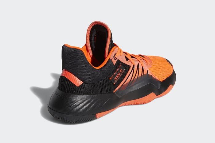 Adidas Don Issue 1 Solar Red Core Black Back