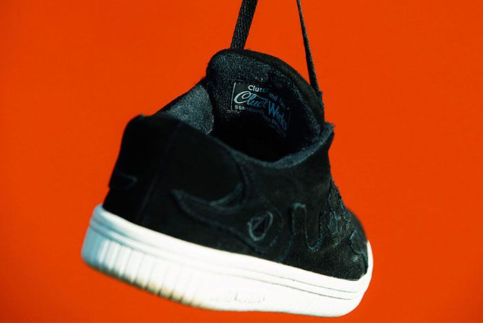 Cluct Airwalk Mita Sneakers Collaboration Collection Release Info 10 Heel Shot