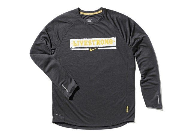 Nike Livestrong Grey Sweat 1