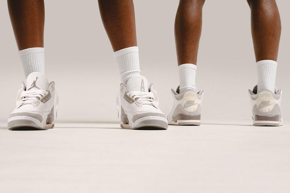 A Ma Maniere x Air Jordan 3 official pics