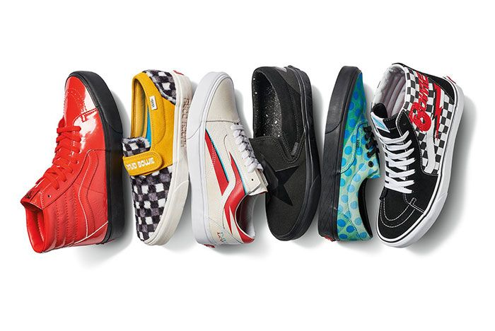 Vans David Bowie Collection Group
