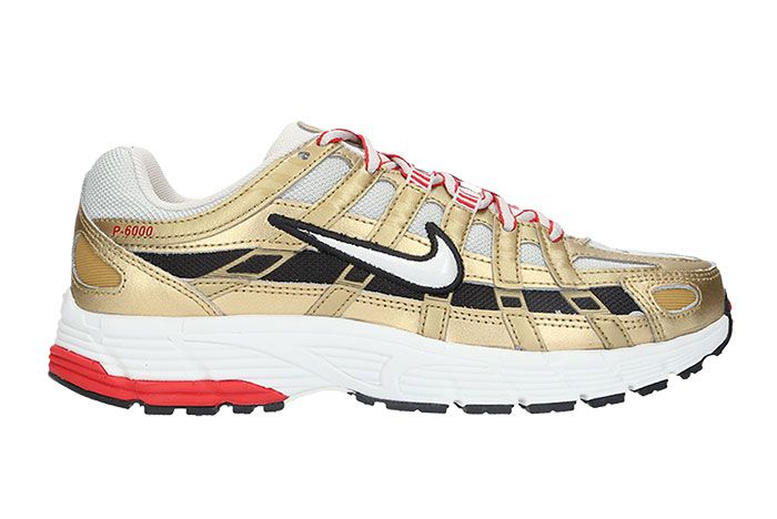 Nike P 6000 Metallic Gold Bv1021 007 Release Date Side
