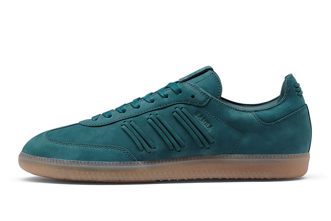 Adidas Consortium Womens Samba Deep Hue Pack Green 4