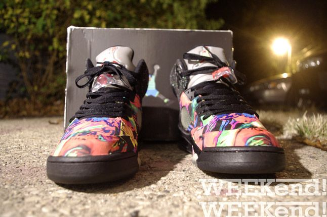 Fresh Prince Nike Air Jordan 5 Fresh Prince Toes 1