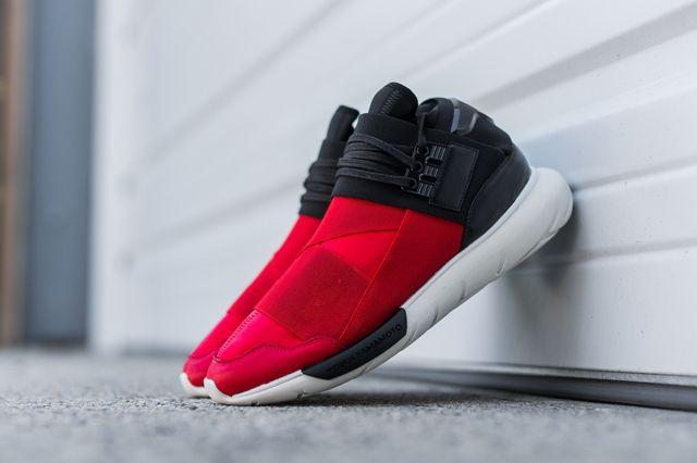 Adidas Y 3 Qasa High Black Red 4