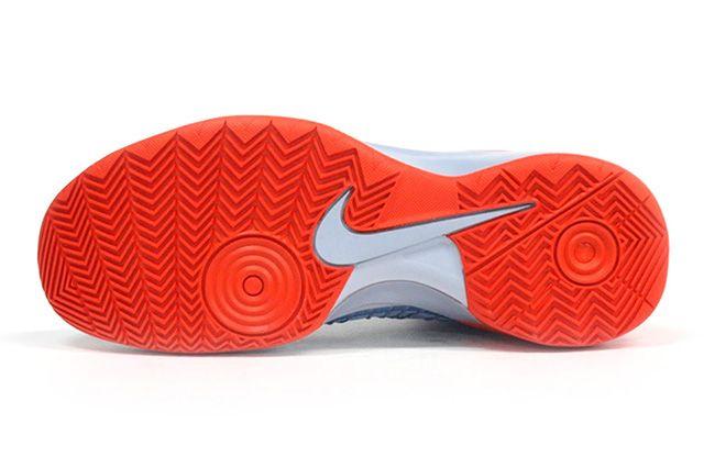 Nike Hyperdunk 2013 Silver Orange 2