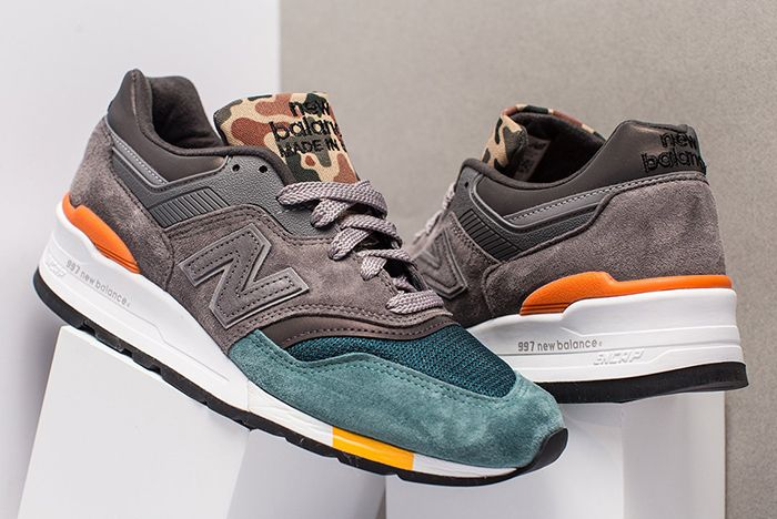 New Balance Decks Out the 997 in 'Duck Camo' - Sneaker Freaker