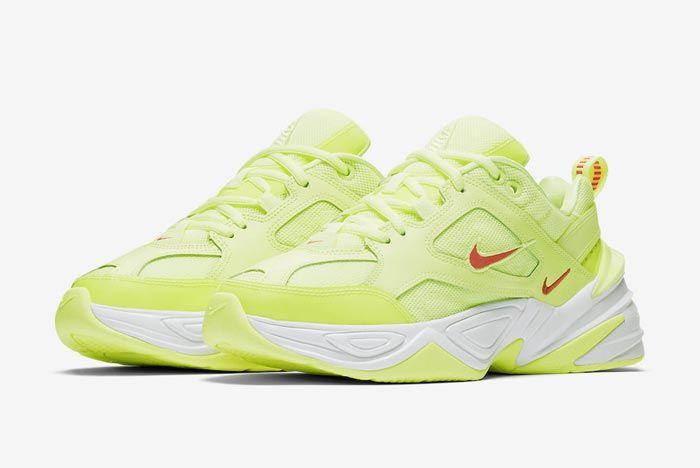 Nike M2K Tekno Barely Volt Pair