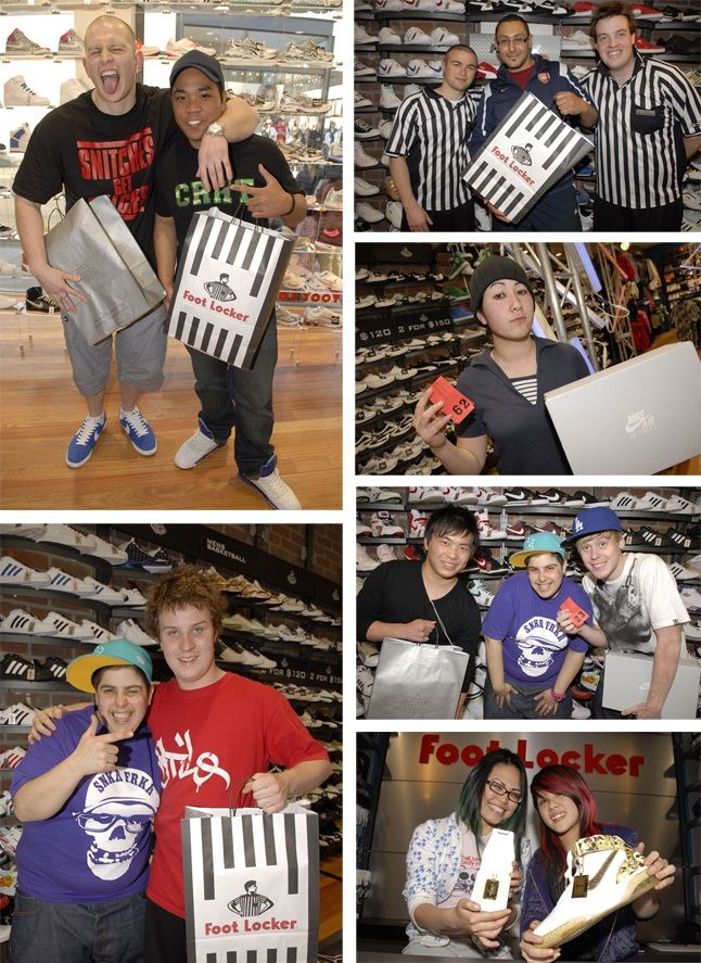 Foot Locker Chapel St Launch Pics 3