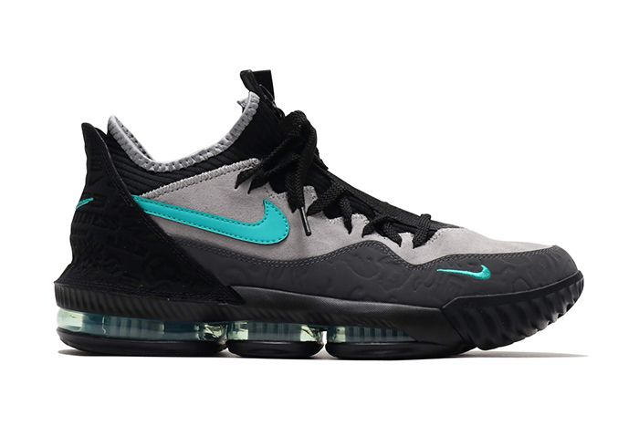 Atmos Nike Lebron 16 Low Clear Jade Cd9471 003 Release Date Lateral