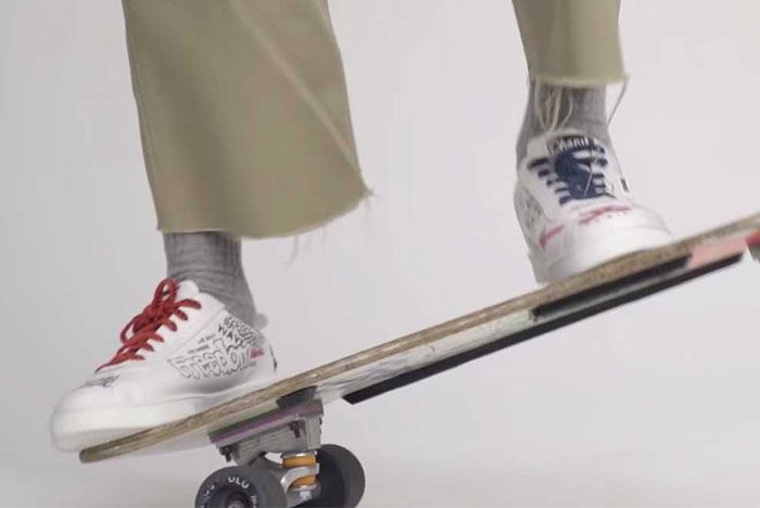 Pharrell Chanel Capsule Collection 05 On Foot Skateboard