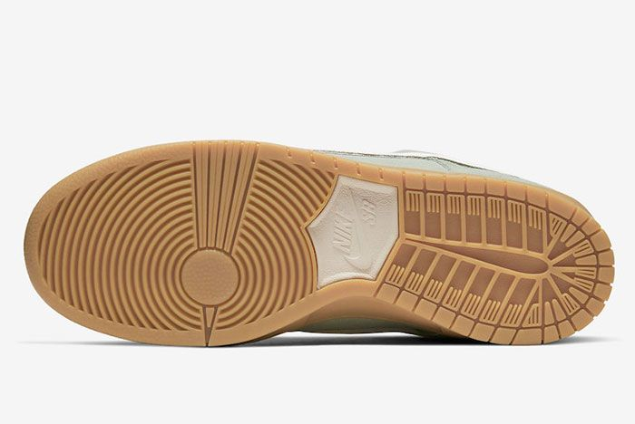 Nike Sb Dunk Low Horizon Green Bq6817 300 Sole