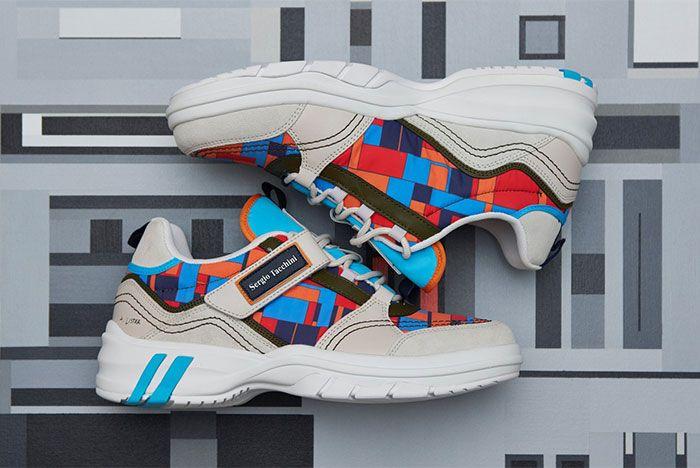Adam Lister Sergio Tacchini Power Model Fall Winter 19 Sneaker Collaboration1