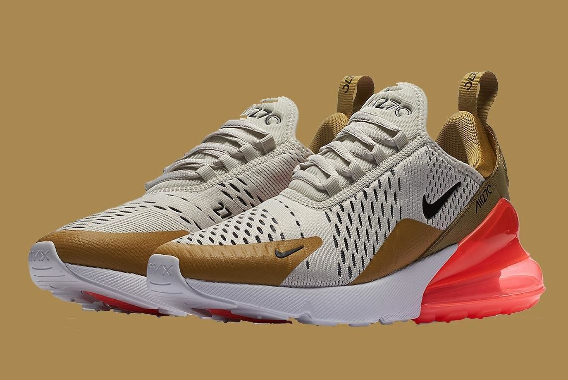 Nike Air Max 270 Flight Gold Ah6789 700 Sneaker Freaker