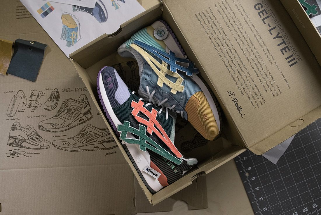 Sean Wotherspoon's atmos x ASICS GEL-Lyte III