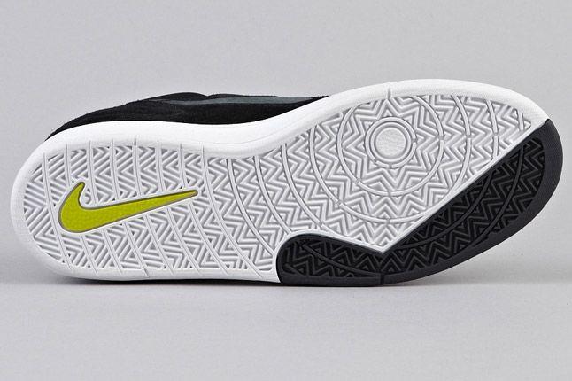 Nike Sb Koston Heritage Black Anthracite Atomic Green Sole 1