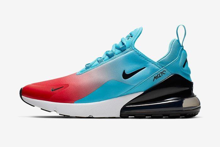 Nike Air Max 270 Heats Up in 'Blue Fury