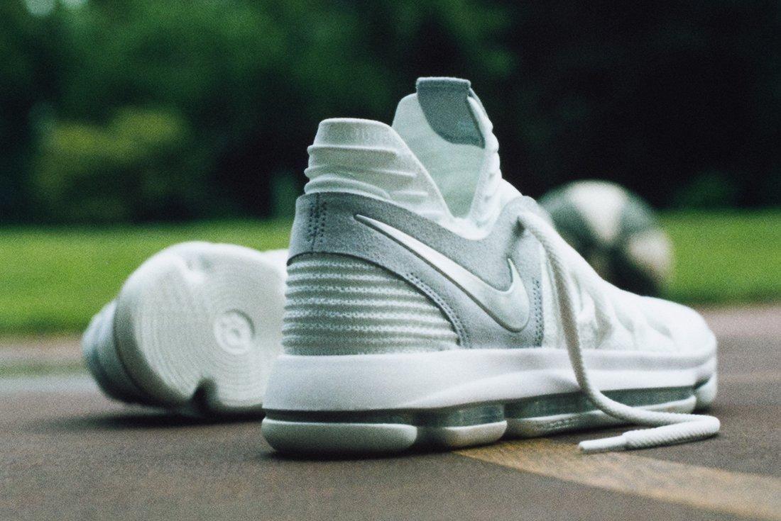 Nike Zoom Kd 10 Pure Platinum