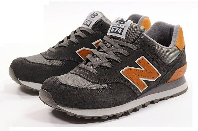 New Balance 574 Leather Heel 1