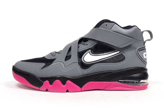 Nike Air Force Max Cb2 Hyperfuse Grey Vivid Pink 3