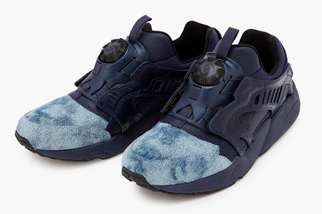 United Arrows Sons X Puma Disc Blaze Indigo