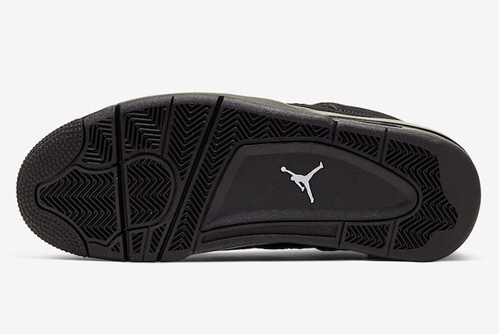 Air Jordan 4 Black Cat Cu1110 010 2020 Sole