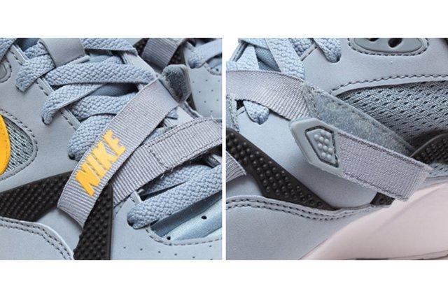 Nike Air Trainer Max 91 Stone Grey Yellow Black 3