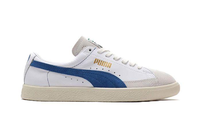 Puma Basket 90680 Black Suede Shoe Release 14 Side