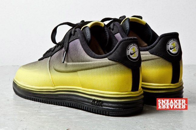 Nike Lunar Force 1 Low Black Yellow 4 2