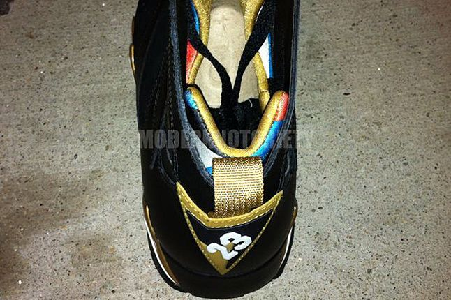 Air Jordan 7 Gold Medal Sample 05 1