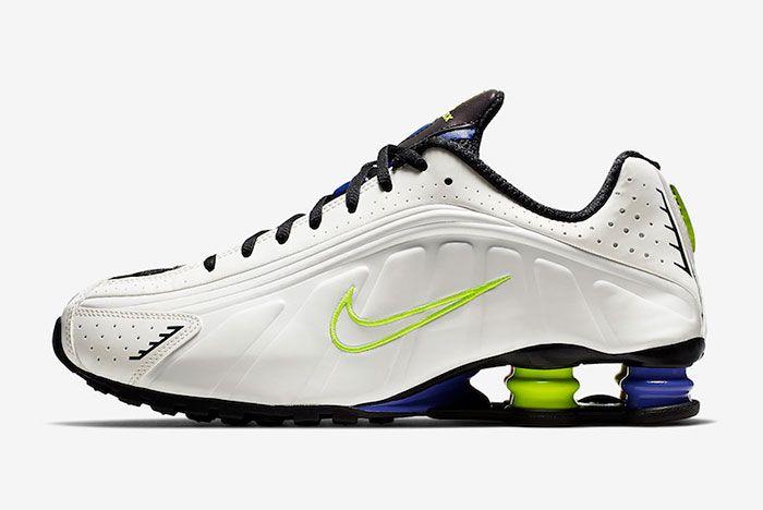 Nike Shox R4 White Flash Ci1955 187 Medial Side Shot