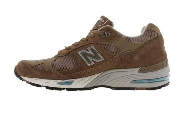 New Balance 991 Pys Exclusive Brown Side Profile 1
