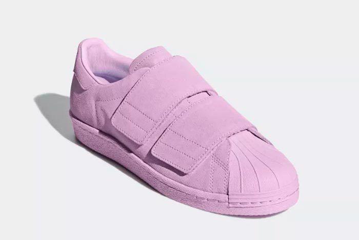 Adidas Superstar 80S Cf Clear Lilac 3