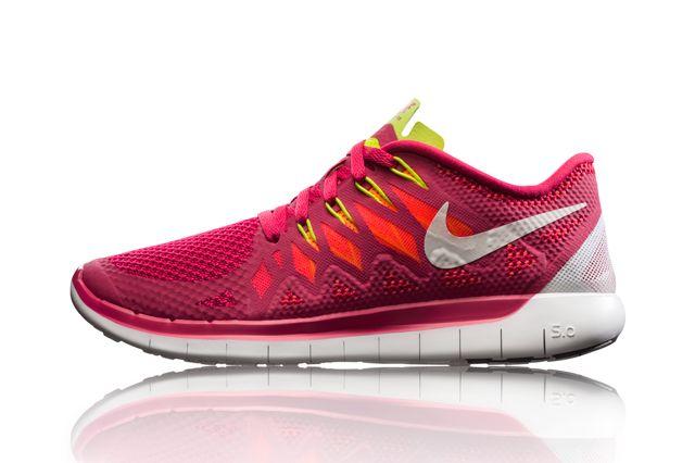 Nike Free 5 Pnk Sideview