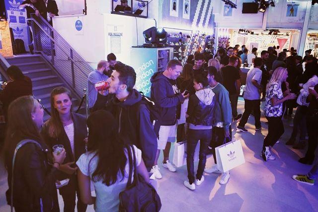 Adidas Originals London Store Opening 31