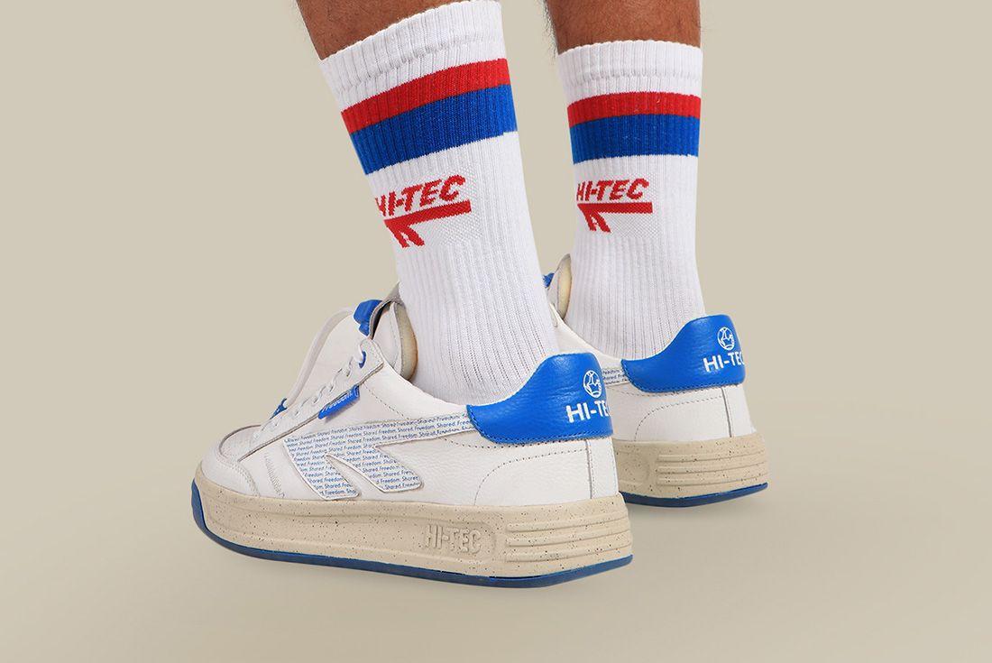 HI-TEC freedom 67 sneaker nelson mandela official shot