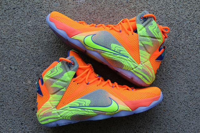 Nike Lebron 12 Nurf