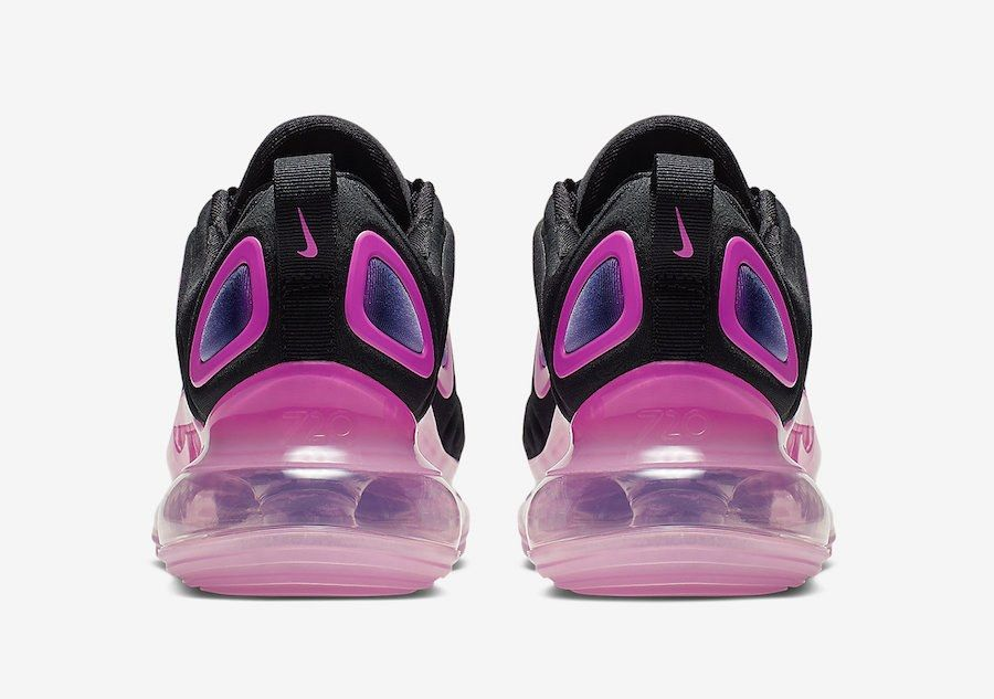 Nike Air Max 720 Black Laser Pink Aq3196 007 Release Date 4