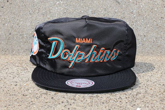 Mitchell Ness Black Satin Nfl Dome Cover Capsule 3