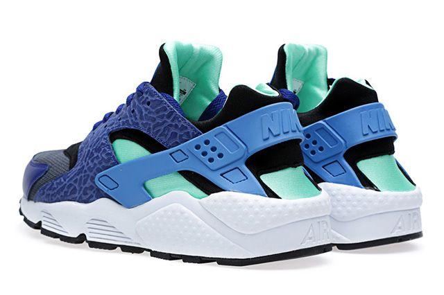 Nike Air Huarache Blue Elephant 1